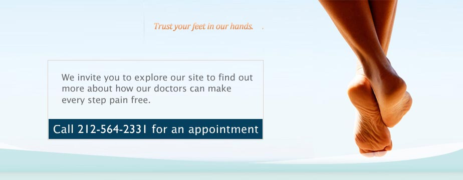 nyc foot doctor
